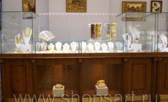 Торговое оборудование ювелирного магазина Амбер КОРИЧНЕВАЯ КЛАССИКА Фото 13