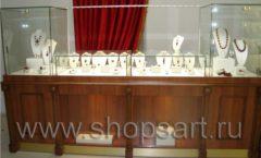 Торговое оборудование ювелирного магазина Амбер КОРИЧНЕВАЯ КЛАССИКА Фото 14