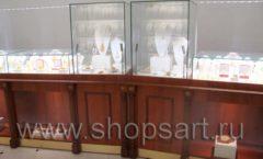 Торговое оборудование ювелирного магазина Амбер КОРИЧНЕВАЯ КЛАССИКА Фото 15
