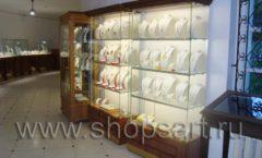 Торговое оборудование ювелирного магазина Амбер КОРИЧНЕВАЯ КЛАССИКА Фото 16