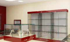 Дизайн интерьера ювелирного магазина РУЗАЮВЕЛИР коллекция ЭТАЛОН Дизайн 03