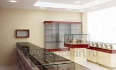 Дизайн интерьера ювелирного магазина РУЗАЮВЕЛИР коллекция ЭТАЛОН Дизайн 05
