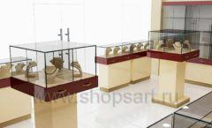 Дизайн интерьера ювелирного магазина РУЗАЮВЕЛИР коллекция ЭТАЛОН Дизайн 07