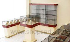 Дизайн интерьера ювелирного магазина РУЗАЮВЕЛИР коллекция ЭТАЛОН Дизайн 08