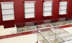 Дизайн интерьера ювелирного магазина РУЗАЮВЕЛИР коллекция ЭТАЛОН Дизайн 09