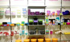 Торговое оборудование магазина посуды Tupperware Фото 01