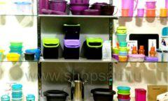 Торговое оборудование магазина посуды Tupperware Фото 02