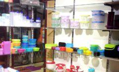 Торговое оборудование магазина посуды Tupperware Фото 03