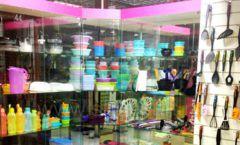 Торговое оборудование магазина посуды Tupperware Фото 04
