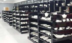 Торговое оборудование магазина посуды Фарфор Стекло Керамика ДОМИНО Фото 02