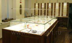 Торговое оборудование ювелирного магазина Амбер коллекция КОРИЧНЕВАЯ КЛАССИКА Фото 08