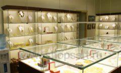 Торговое оборудование ювелирного магазина Амбер коллекция КОРИЧНЕВАЯ КЛАССИКА Фото 10