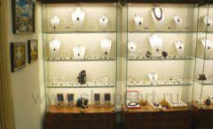 Торговое оборудование ювелирного магазина Амбер коллекция КОРИЧНЕВАЯ КЛАССИКА Фото 18