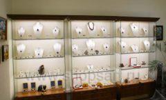Торговое оборудование ювелирного магазина Амбер коллекция КОРИЧНЕВАЯ КЛАССИКА Фото 19
