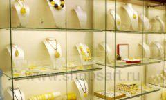 Торговое оборудование ювелирного магазина Амбер коллекция КОРИЧНЕВАЯ КЛАССИКА Фото 20