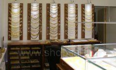 Торговое оборудование ювелирного магазина Амбер коллекция КОРИЧНЕВАЯ КЛАССИКА Фото 22