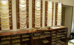 Торговое оборудование ювелирного магазина Амбер коллекция КОРИЧНЕВАЯ КЛАССИКА Фото 23