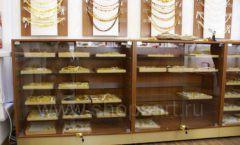 Торговое оборудование ювелирного магазина Амбер коллекция КОРИЧНЕВАЯ КЛАССИКА Фото 24