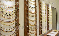Торговое оборудование ювелирного магазина Амбер коллекция КОРИЧНЕВАЯ КЛАССИКА Фото 25