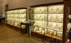 Торговое оборудование ювелирного магазина Амбер ЭЛИТ КЛАССИК Фото 13