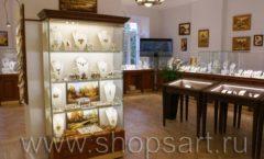 Торговое оборудование ювелирного магазина Амбер ЭЛИТ КЛАССИК Фото 17