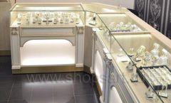 Торговое оборудование ювелирного магазина Нефрит ЭЛИТ ГОЛД Фото 05