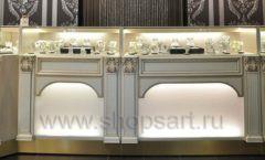 Торговое оборудование ювелирного магазина Нефрит ЭЛИТ ГОЛД Фото 11