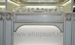 Торговое оборудование ювелирного магазина Нефрит ЭЛИТ ГОЛД Фото 12