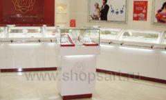 Торговое оборудование ювелирного магазина Изумит ЭТАЛОН Фото 09