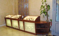Торговое оборудование ювелирного магазина Тик-Так ЭТАЛОН Фото 10