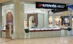 Торговое оборудование ювелирного магазина Кремлёв КРЕМЛЕВСКОЕ ЗОЛОТО Фото 17