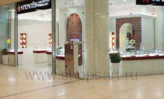 Торговое оборудование ювелирного магазина Кремлёв КРЕМЛЕВСКОЕ ЗОЛОТО Фото 19