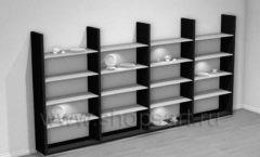 Стеллаж для продажи посуды торговое оборудование ДОМИНО