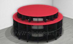 Стол для магазина посуды торговое оборудование ДОМИНО