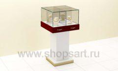 Витрина ювелирная куб торговое оборудование ЭТАЛОН