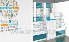 Дизайн интерьера для аптеки Дизайн 01