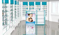 Дизайн интерьера для аптеки Дизайн 02