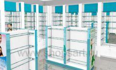 Дизайн интерьера для аптеки Дизайн 03