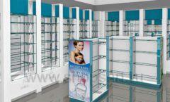 Дизайн интерьера для аптеки Дизайн 06