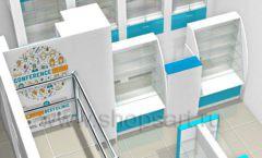 Дизайн интерьера для аптеки Дизайн 07