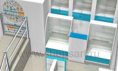 Дизайн интерьера для аптеки Дизайн 09
