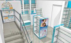 Дизайн интерьера для аптеки Дизайн 11