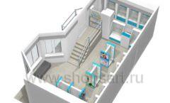 Дизайн интерьера для аптеки Дизайн 18