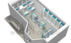 Дизайн интерьера для аптеки Дизайн 21