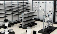 Дизайн интерьера магазина посуды BergHOFF коллекция МЕБЕЛЬ ДЛЯ ПОСУДЫ Дизайн 01
