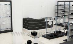 Дизайн интерьера магазина посуды BergHOFF коллекция МЕБЕЛЬ ДЛЯ ПОСУДЫ Дизайн 05
