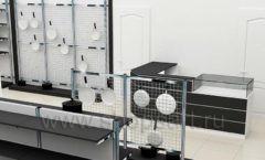 Дизайн интерьера магазина посуды BergHOFF коллекция МЕБЕЛЬ ДЛЯ ПОСУДЫ Дизайн 06