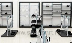 Дизайн интерьера магазина посуды BergHOFF коллекция МЕБЕЛЬ ДЛЯ ПОСУДЫ Дизайн 07