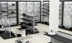 Дизайн интерьера магазина посуды BergHOFF коллекция МЕБЕЛЬ ДЛЯ ПОСУДЫ Дизайн 08