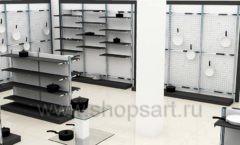 Дизайн интерьера магазина посуды BergHOFF коллекция МЕБЕЛЬ ДЛЯ ПОСУДЫ Дизайн 11